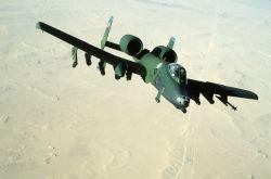 A-10A Thunderbolt II attack aircraft Image