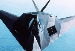 An F-117A aircraft Photo