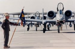A-10 - ceremony welcoming the 75th to Al Jabar AB, Kuwait Photo