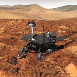 Kirtland Air Force Base - Mars Rover Spirit lands Photo