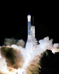 Delta II - Rocket launch Photo