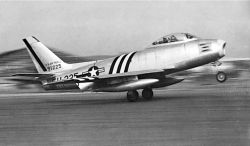 F-86 Sabre - Korean War Photo