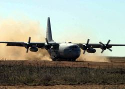 C-130 Hercules - Fast fire Photo