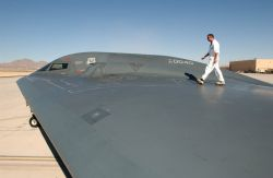 B-2 Spirit Bomber - On a wing and a prayer Photo