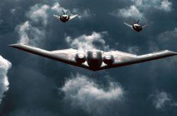 F-117 Nighthawks - Stealthy trio Photo