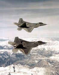 F/A-22 - Raptor flight Photo