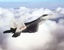 F/A-22 Raptor - Flight testing Photo