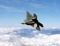 F/A-22 Raptor - Raptor rolls Photo