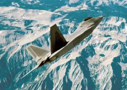 F/A-22 - Raptor in flight Photo