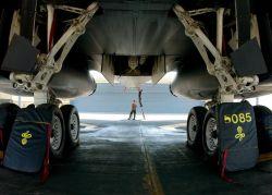 B-1 Lancer - Lancer landing gear Photo