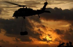 HH-60G Pave Hawk - Into the setting sun Photo