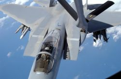 F-15 Eagle - Over the South Pacific Photo