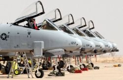 A-10 Thunderbolt II - Warthog row Image