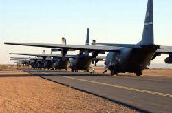 C-130 Hercules - Hercules row Photo
