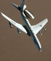 E-3A AWACS - AWACS banking Photo
