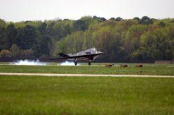 F-117A Nighthawk - Nighthawk touchdown Photo