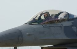 F-16CJ - Heading home Photo
