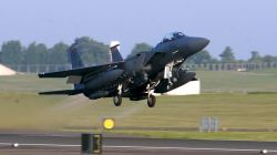 F-15E Strike Eagle - Eagle lift off Photo