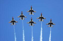 Thunderbird - 6-ship formation Photo