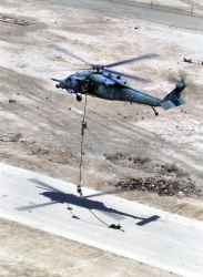 HH-60G Pave Hawk - Fast rope Photo