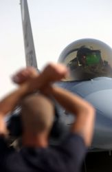 F-16 Fighting Falcon - Stop here Photo