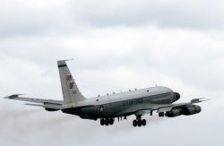 RC-135 - RJ lifts off Photo