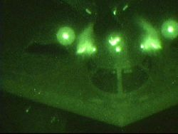 B-2 Spirit bomber - Night flight Photo