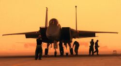F-15C Eagle - Prepare for launch Photo
