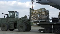 C-141 Starlifter - Forklift Photo