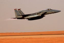 F-15C Eagle - Afterburners Photo