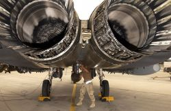 F-15E Strike Eagle - Eagle maintainer Photo