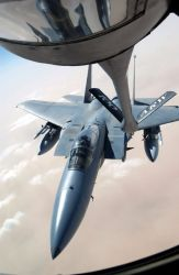 F-15 Eagle - Thirsty Eagle Photo