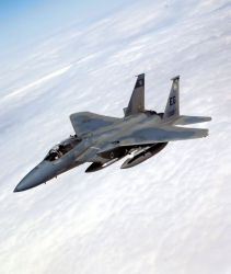 F-15C Eagle - Eagle in flight Photo