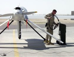 RQ-1 Predator - Engine start Photo