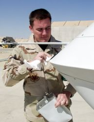 MQ-1 Predator - Cleaning the