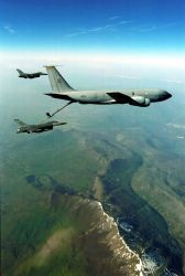 F-16 Fighting Falcons -Allied Force refueling Photo
