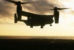 CV-22 Osprey Aircraft - Osprey goes vertical Photo