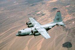 EC-130H Hercules Aircraft - Compass Call Photo