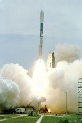 Boeing Delta II rocket - Delta II liftoff Photo