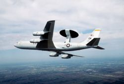 An E-3 Sentry - Airborne Warning and Control System - AWACS Photo