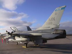F-16 Fighting Falcon - Alert pad Photo