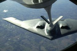 KC-135R Stratotanker - B-2 refueling Photo