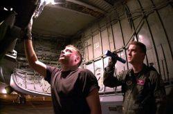 KC-135 aircraft - Final Inspection Photo
