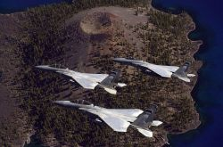F-15 - Crater Lake run Photo