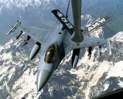 F-16 Fighting Falcon - Thirsty Falcon Photo