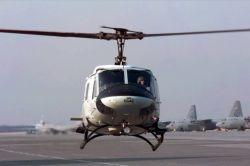 UH-1N - Huey lift off Photo