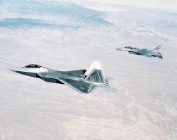 F/A-22 Raptor - F/A-22 Raptor 4002 Photo