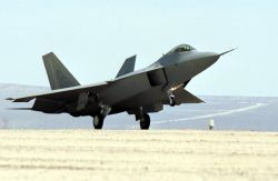 F/A-22 Raptor - Touch down Photo