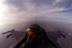 F-16 Fighting Falcon - Excellent view Photo
