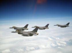 F-16C Fighting Falcons - Flock of Falcons Photo